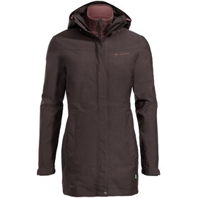 VAUDE Idris II Parka 3in1 Donna, pecan brown